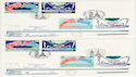 1994-05-03 Channel Tunnel France + GB x2 FDC (55079)