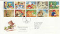 1994-02-01 Greetings Stamps Penn Wolverhampton FDC (55085)