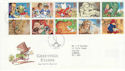 1994-02-01 Greetings Stamps Penn Wolverhampton FDC (55086)