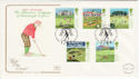 1994-07-05 Golf Stamps Muirfield FDC (55087)