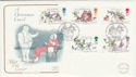 1993-11-09 Christmas Stamps Rochester FDC (55090)