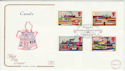 1993-07-20 Inland Waterways London North FDC (55094)