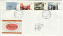 1975-02-19 Turner Paintings Stamps Bureau FDC (55114)