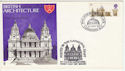 1969-05-28 Cathedrals St Paul's Philatex London FDC (55150)
