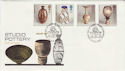 1987-10-13 Studio Pottery Stamps St Ives FDC (55164)