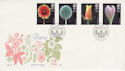 1987-01-20 Flowers Stamps Richmond FDC (55167)