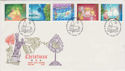 1987-11-17 Christmas Stamps Bethlehem FDC (55168)