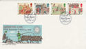 1986-06-17 Medieval Life Stamps Gloucester FDC (55174)