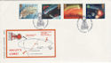 1986-02-18 Halley's Comet Stamps London SE10 FDC (55177)