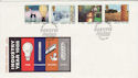 1986-01-14 Industry Year Stamps Birmingham FDC (55178)