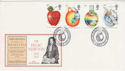 1987-03-24 Isaac Newton Stamps Woolsthorpe FDC (55181)