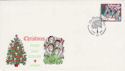 1986-12-02 Christmas 12p Glastonbury Thorn FDC (55182)