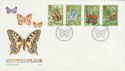 1981-05-13 Butterflies Stamps London SW FDC (55206)