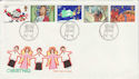 1981-11-18 Christmas Stamps Bethlehem FDC (55219)