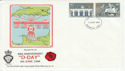 1984-05-15 Legion D-Day Europa Stamps Portsmouth FDC (55229)