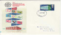 1969-04-02 Europa 10th Anniversary London WC FDC (55232)