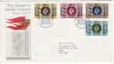 1977-06-30 Silver Jubilee Tour LONDON SW Pmk (55339)