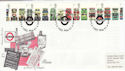 2001-05-15 Buses Stamps London's Transport Museum FDC (55355)
