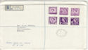 1958-08-18 Regional Definitive All Six Regions cds FDC (55371)
