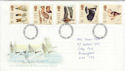 1996-03-12 Wilfowl and Wetlands Birds FDC (55381)