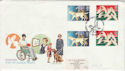 1981-03-25 Year of Disabled Gutters Wallasey FDC (55432)