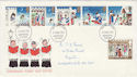 1973-11-28 Christmas Stamps Huddersfield FDI (55449)