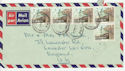 1979 Papua New Guinea to UK Envelope (55531)