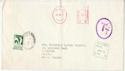 1971 Rhodesia to UK Envelope with surcharge (55533)