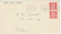 1941-04-01 Jersey Arms 1d Jersey wavy FDC (55572)