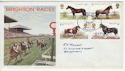 1978-07-05 Horses Brighton Official FDC (55576)