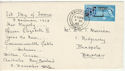 1963-12-03 COMPAC Stamp Bridport cds FDC (55633)