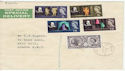 1964-04-23 Shakespeare Stamps Herts cds FDC (55637)