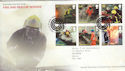 2009-09-01 Fire and Rescue Stamps Hose FDC (55685)