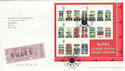 2001-05-15 Double Deckers Stamps M/S London WC2 FDC (55722)