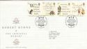 1996-01-25 Robert Burns Stamps Bureau FDC (55736)