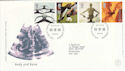 2000-10-03 Body and Bone Stamps Bureau FDC (55754)