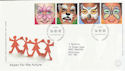 2001-01-16 Hopes for the Future Stamps Bureau FDC (55756)