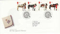 1997-07-08 All the Queen's Horses Bureau FDC (55764)