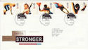 1996-07-09 Olympic and Paralympic Stamps Bureau FDC (55774)