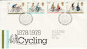 1978-08-02 Cycling Stamps Bureau FDC (55777)