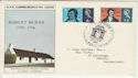 1966-01-25 Robert Burns PHOS Dumfries FDC (55797)