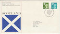 1976-01-14 Scotland Definitive Edinburgh FDC (55820)