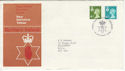 1976-01-14 N Ireland Definitive Belfast FDC (55822)
