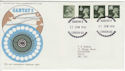1974-06-21 Cantat 2 Commemorative Cover (55829)