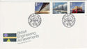 1983-05-25 Engineering Stamps Hull FDC (55835)