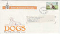 1979-02-07 Dogs Rare Time Assurance Society Ovpt FDC (55840)