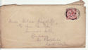 1912-24 King George V 1½d used on envelope (55848)