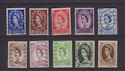 GB Wilding Definitive Stamps x10 Used (55913)