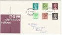 1980-01-30 Definitive Stamps Devon FDC (55928)