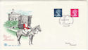1980-10-22 Definitive Stamps Windsor FDC (55967)
